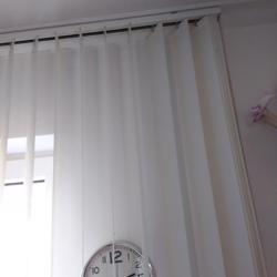 verticale lamellen wit creme